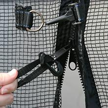 closure,system,net,safe,zipper,clips,latch
