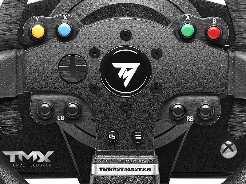 thrustmaster tmx force feedback racing wheel for xbox one and windows video games. Black Bedroom Furniture Sets. Home Design Ideas