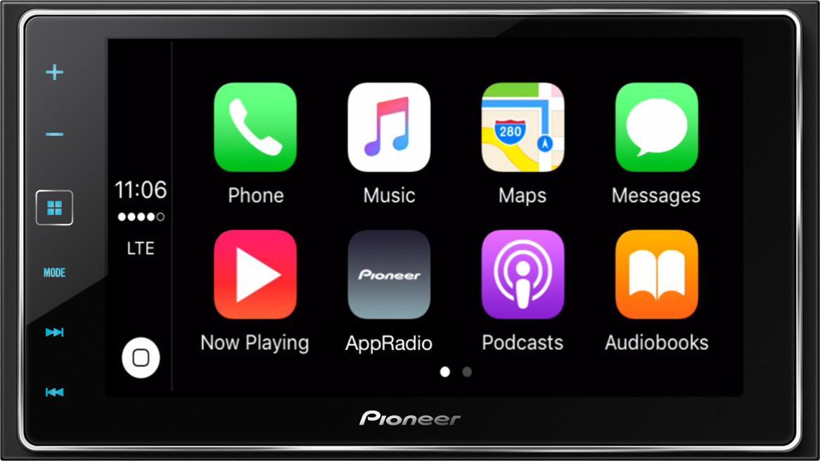 pioneer appradio 4 sph da120 6 2 inch capacitive touchscreen smartphone receiver. Black Bedroom Furniture Sets. Home Design Ideas