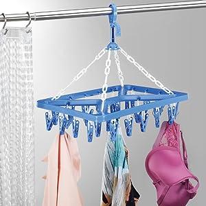 eco, friendly, hanger, dryer, lingerie, delicates, laundry, clips