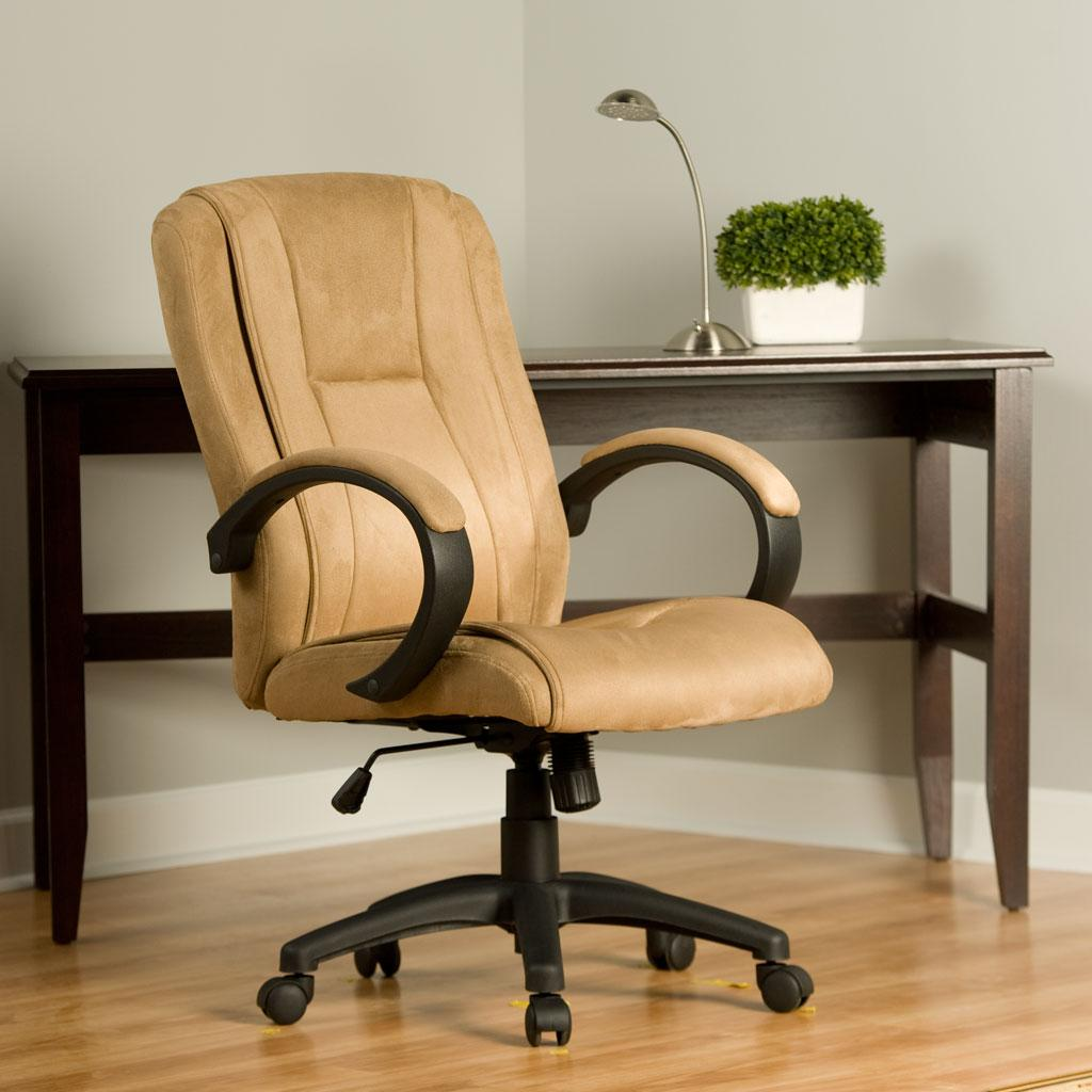 Comfort Products Microsuede Padded Executive Chair