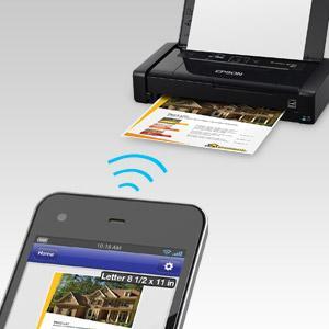 Amazon Com Epson Workforce Wf 100 Wireless Mobile Printer