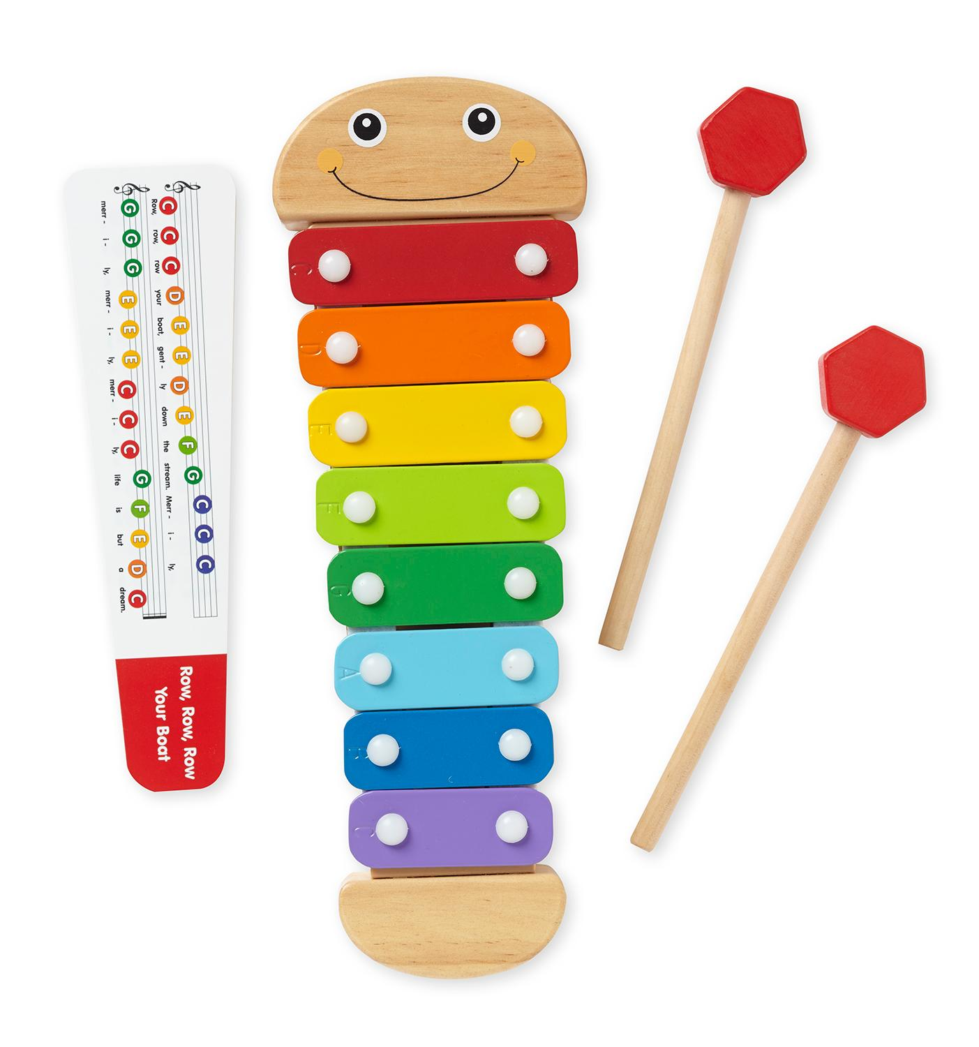 Www Amazon Com Kids Xylophone Wooden Musical Toys
