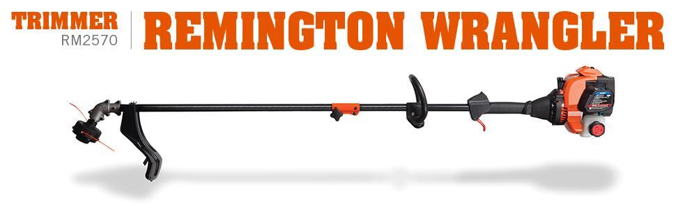 amazon com remington rm2570 wrangler 25cc 2 cycle 17 inch