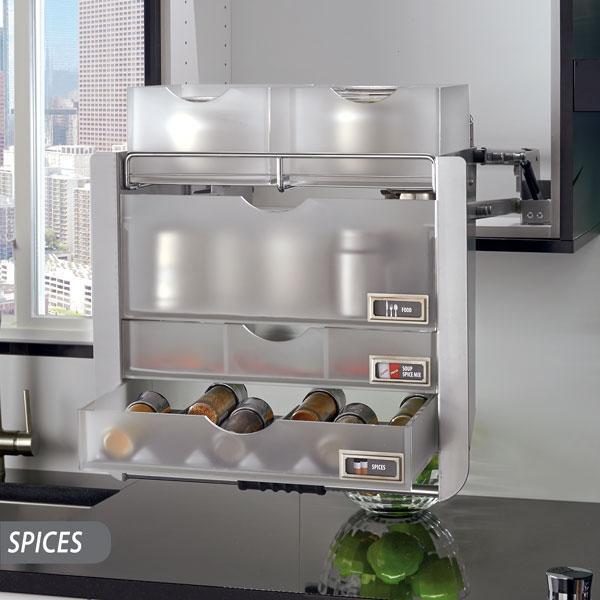 Kitchen Cabinet Pull Down Shelves: Amazon.com: Rev-A-Shelf