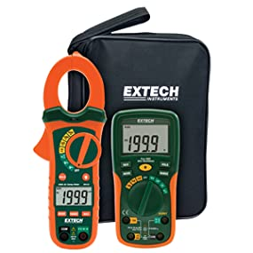 Extech, ETK30, electrical testing, HVAC, EX205T, multimeter, MA430, clamp meter