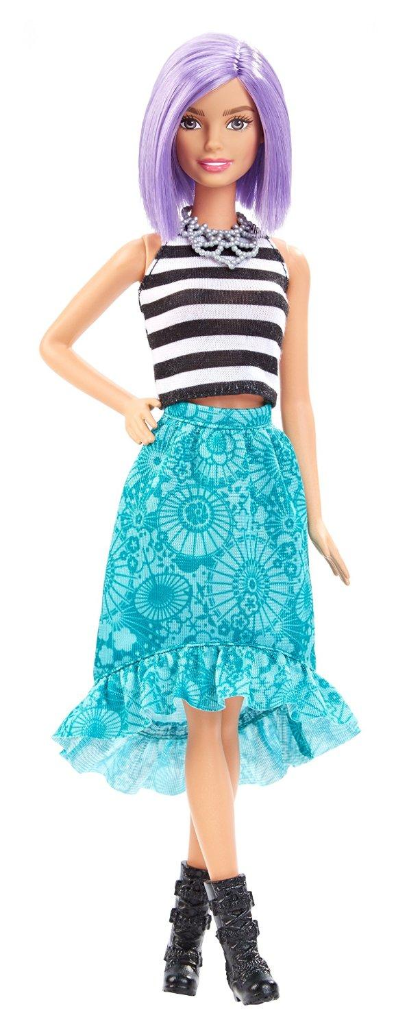 Amazon.com: Barbie Fashionistas Doll 18 Va-Va-Violet - Original: Toys