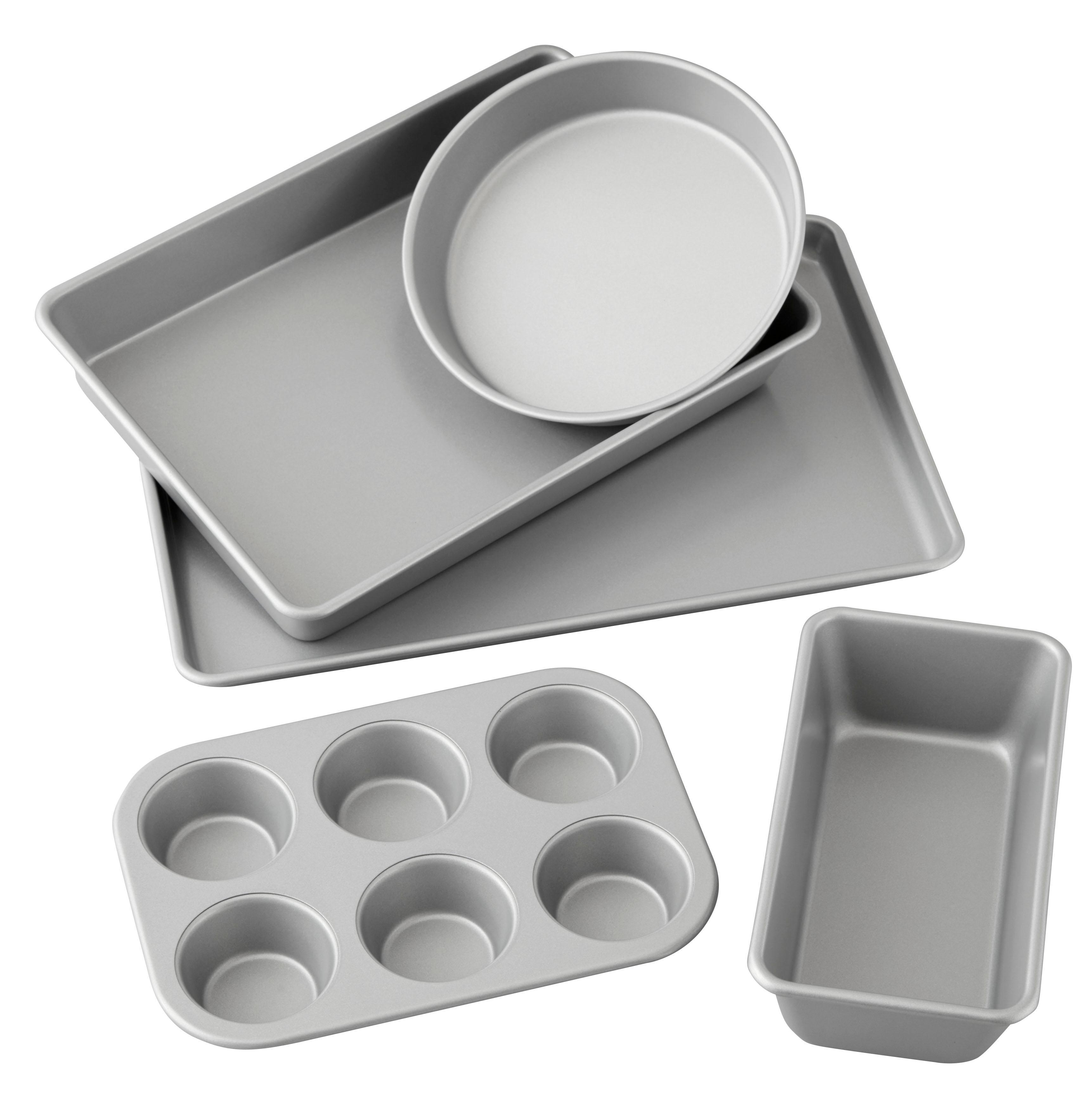 Amazon Com Wilton 5 Piece Best Value Non Stick Bakeware