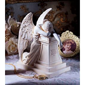 Amazoncom Design Toscano Angel of Grief Monument Statue Home