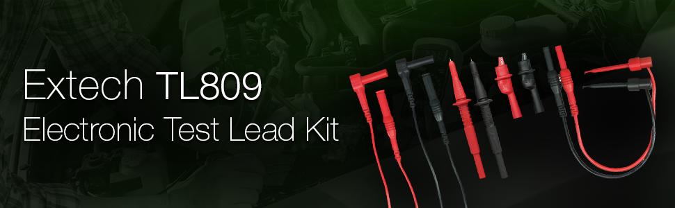 Extech, TL809, Electronic, Test Lead Kit