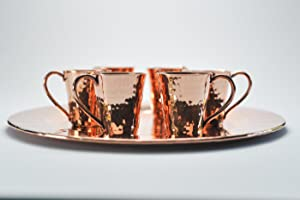 Sertodo Copper; hammered Copper; Charger plate; moscow; copper cups; oprah's favorite things