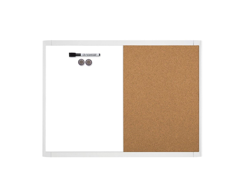 Amazon.com : Quartet Magnetic Dry Erase Board & Cork Board