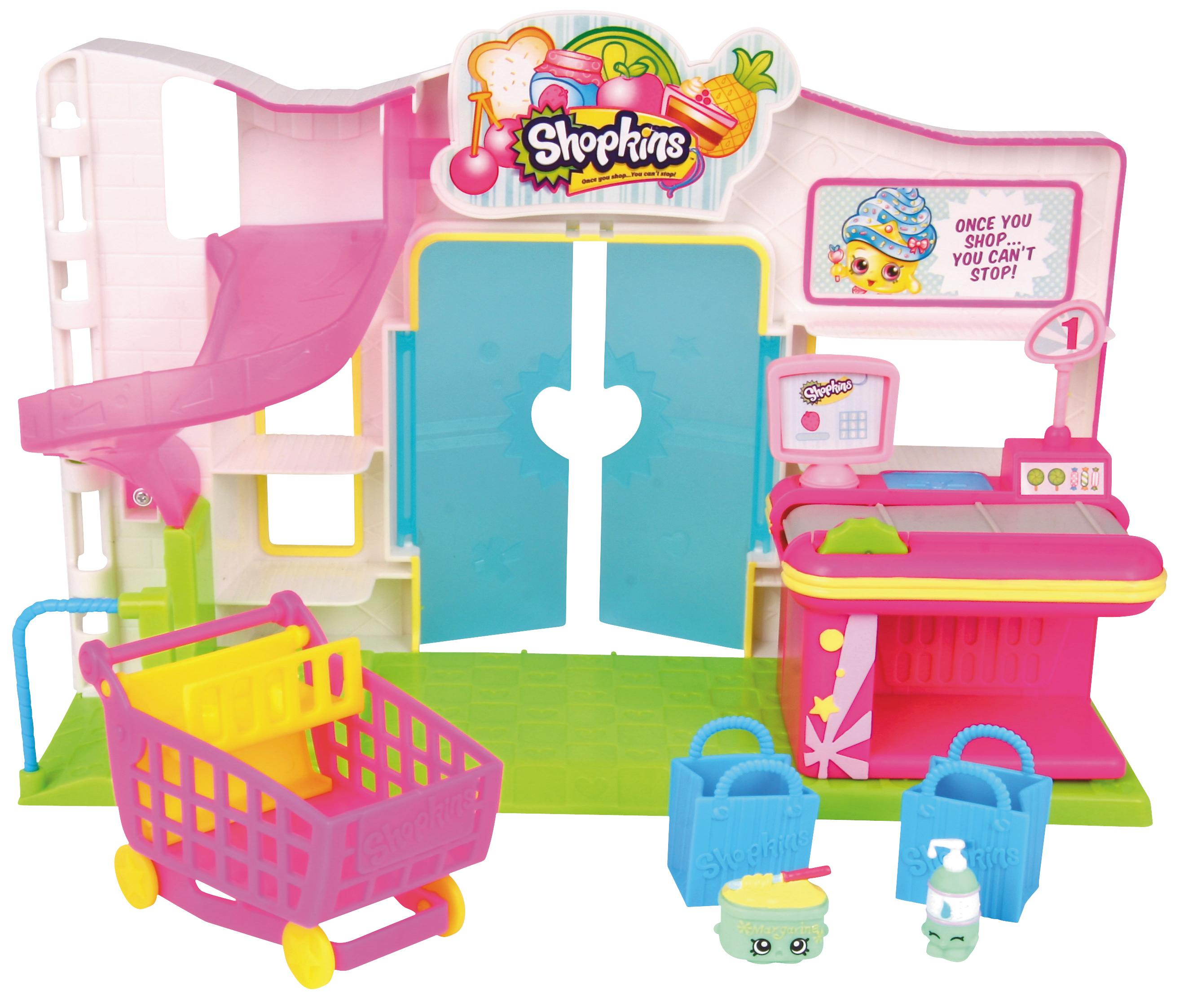 Amazon Shopkins Supermarket Playset Toys & Games