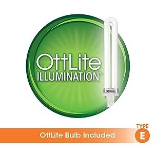 Amazon Com Ottlite 326003 13 Watt Hd Slimline Task Lamp White Home Improvement