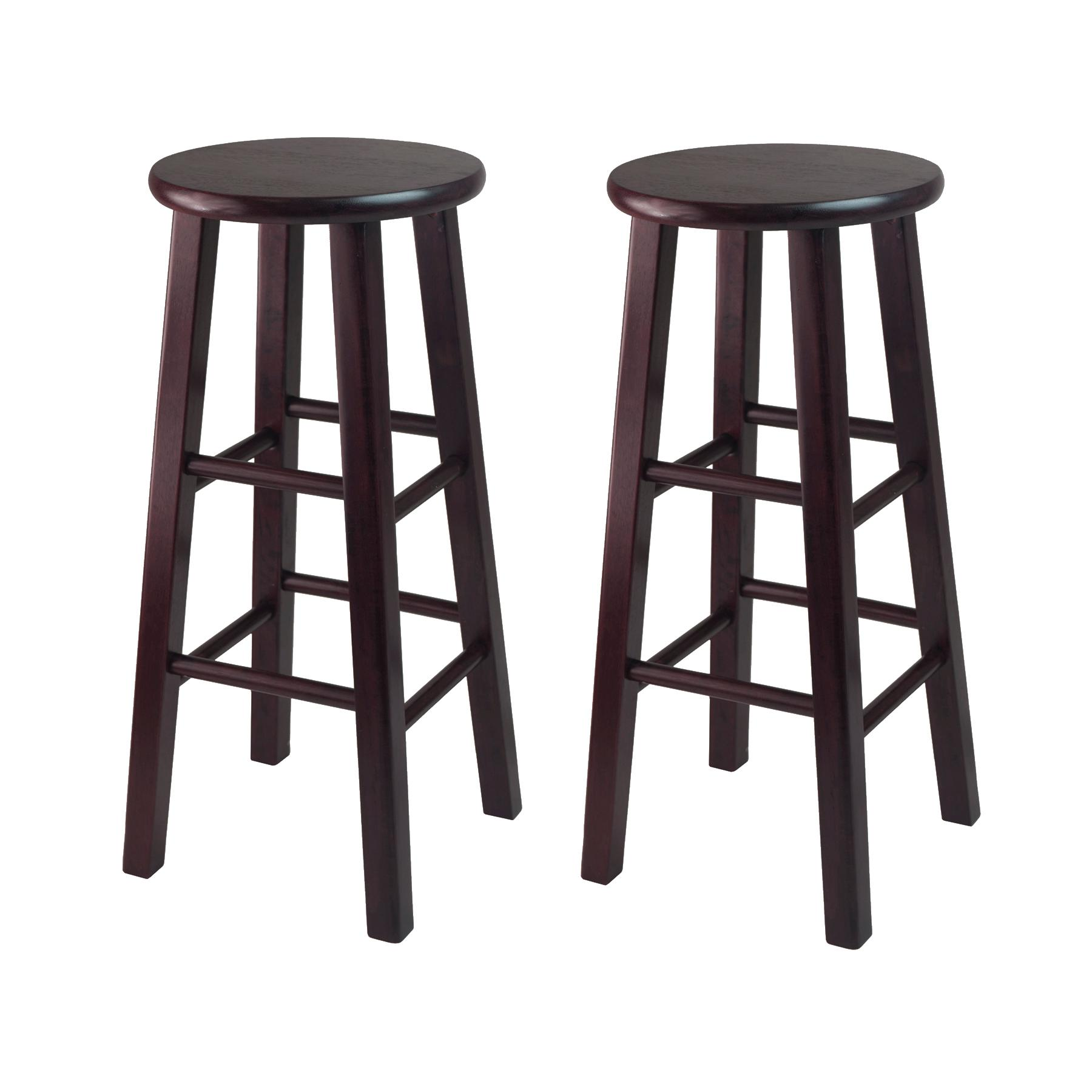 Amazon Winsome Bar Stool with Square Legs 29 Inch Espresso