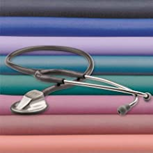 stethoscope adc adscope clinician american diagnostic acoutstic adjustable frequency headset eartip
