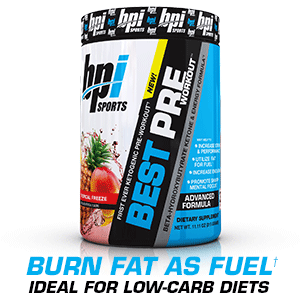 Amazon.com: BPI Sports Ketogenic Pre-Workout Supplement - Best Pre-Workout - Carb-Free - Burns