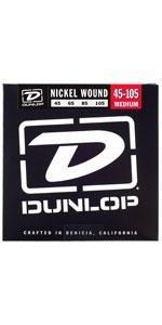 dunlop, jim dunlop, nickel bass strings