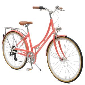 Venus Seven-Speed Women's City Bike Drivetrain