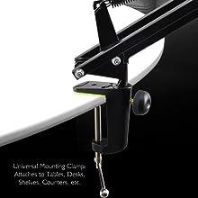 Convenient Table Clamp Mount Attachment
