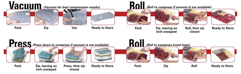 How to Use a Vacuum Bag?