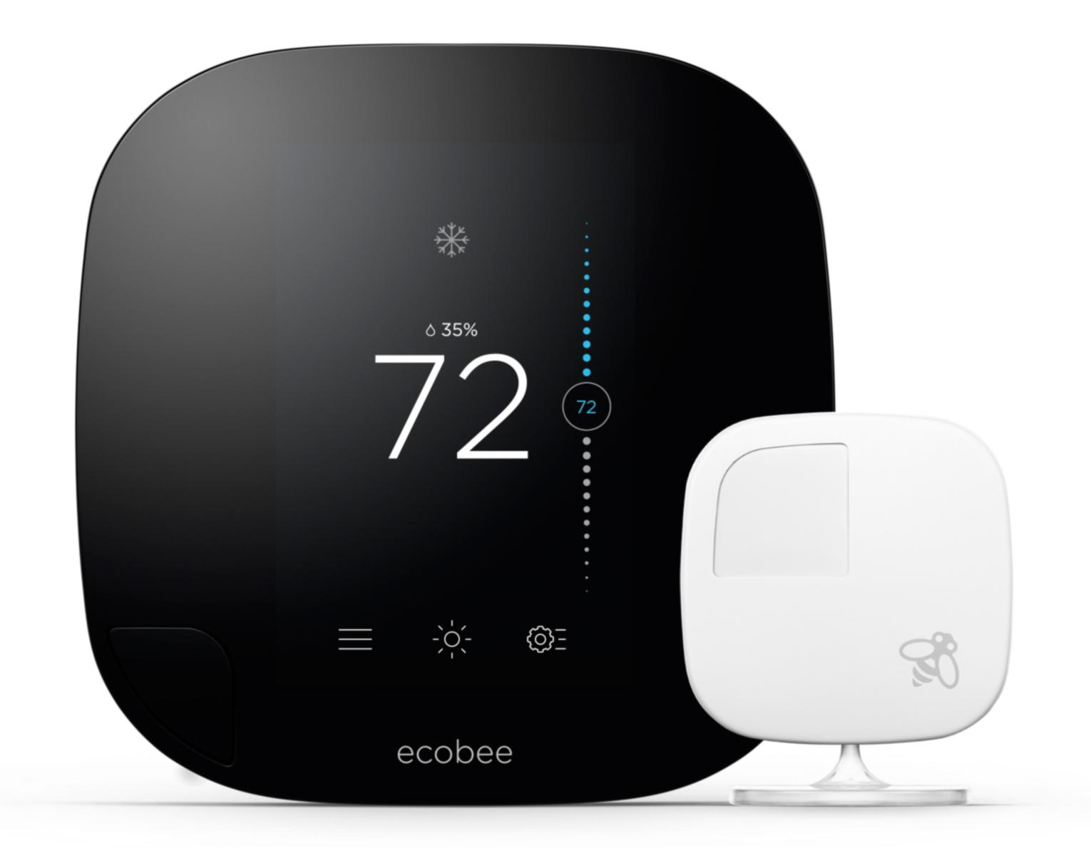 ecobee3 thermostat with sensor  wi