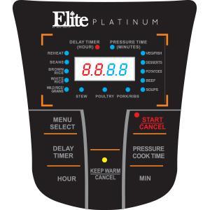 Features Of Elite Platinum EPC-808 Maxi-Matic 8 Quart Electric Pressure Cooker