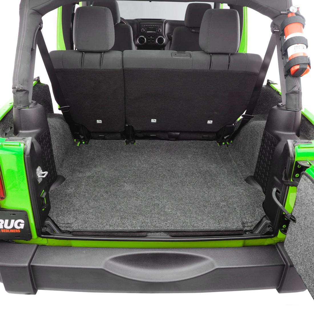 Amazon.com: Bedrug BRTJ97R Rear Cargo Liner Kit For Jeep