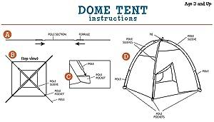 play, tent, kids, fun