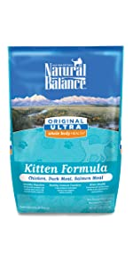 natural dry kitten food