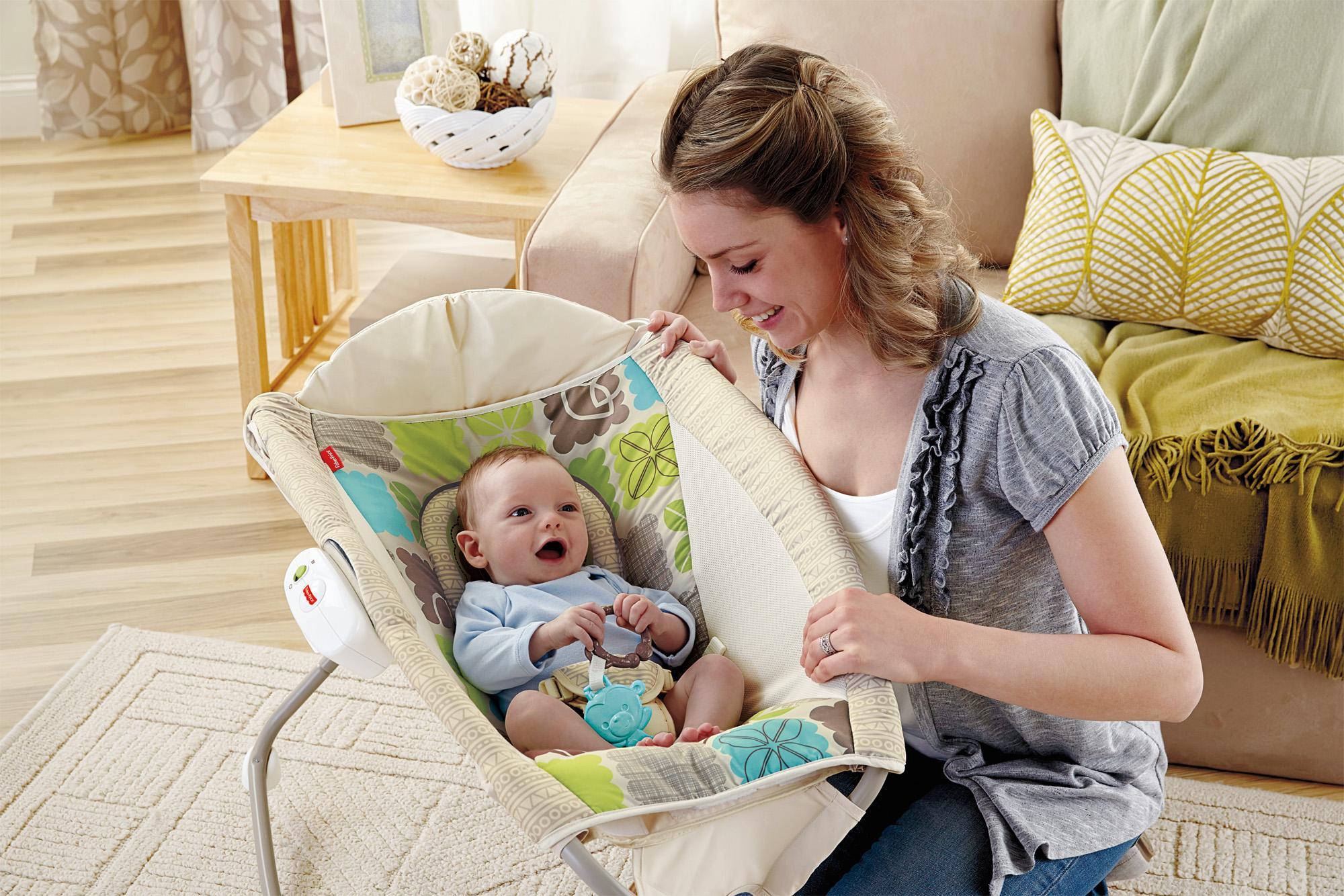 Newborn Fisher Price Sleeper Rock N Play Rocker Toddler