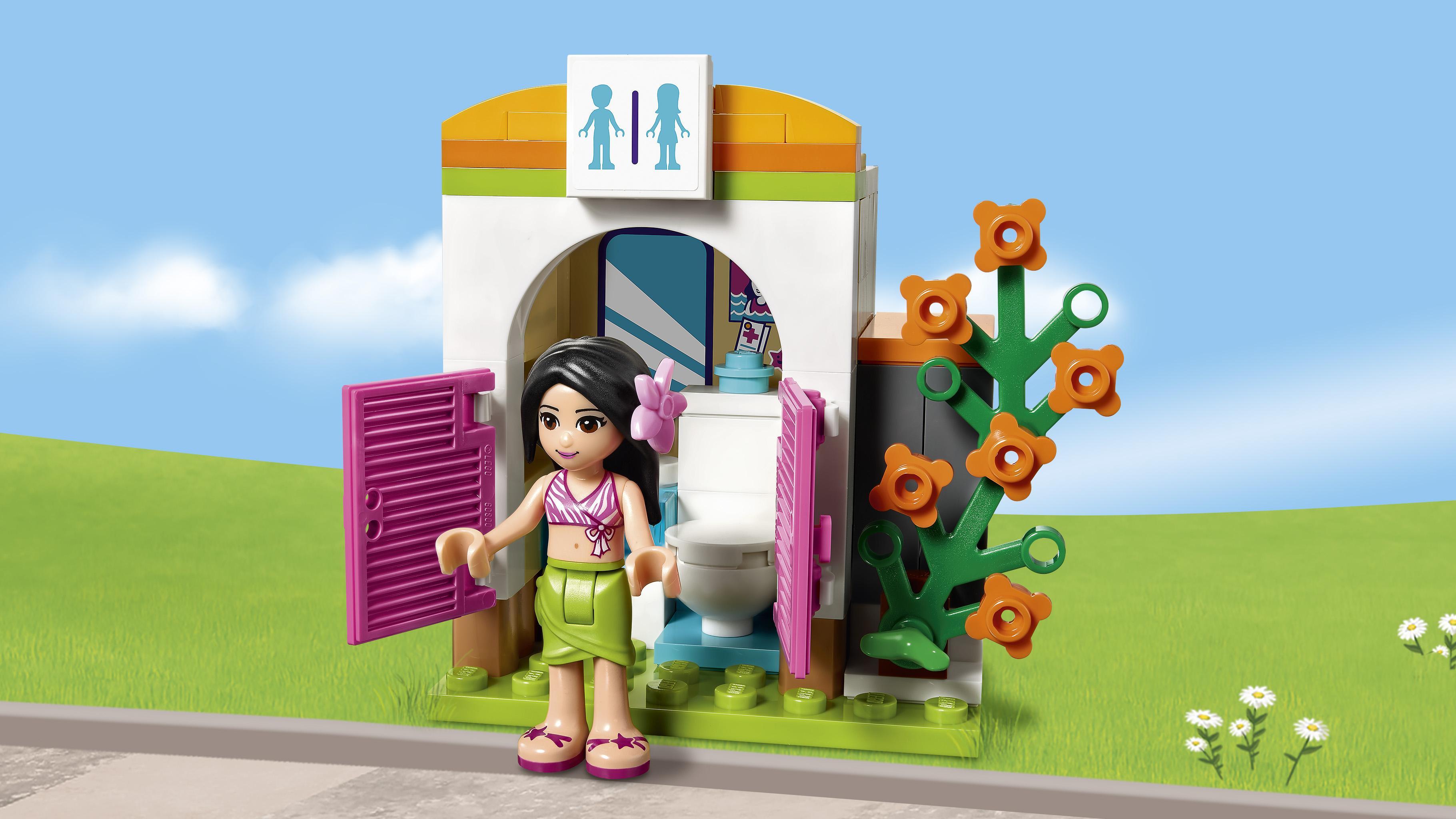 Lego friends heartlake summer pool 41313 new for Piscina lego friends