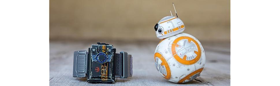 BB8 Star Wars Robot Toy - Battle worn star wars figure