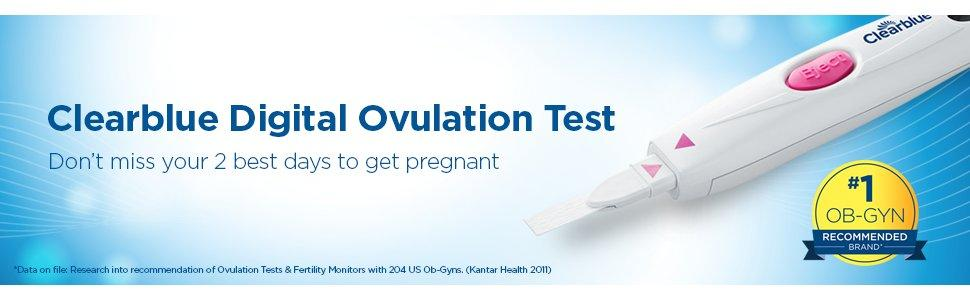 Amazon.com: Clearblue Digital Ovulation Test, 20 Ovulation Tests