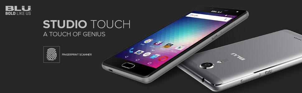 Amazon.com: Blu Studio Touch desbloqueado teléfono – (Oro ...