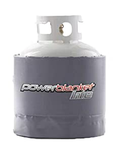 pbl20,powerblanket lite,powerblanket light,gas cylinder heater