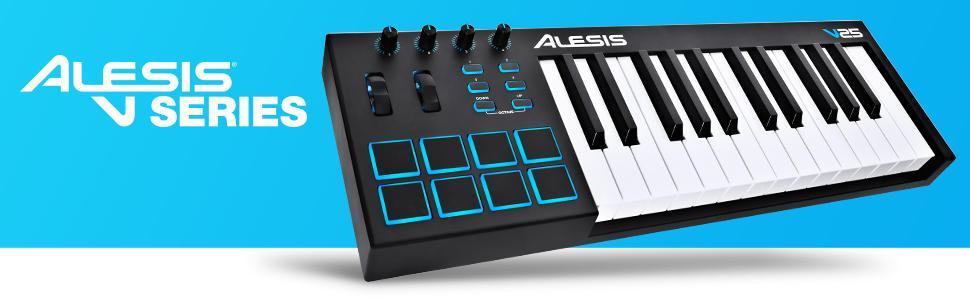 Alesis V61 USB MIDI Pad/Keyboard Controller