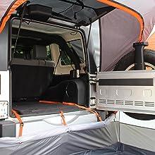Wrangler Hard top tent