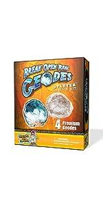 Starter Geode Science Kit