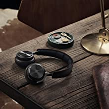 B&O PLAY by Bang & Olufsen BeoPlay H8 Agrilla Bright Gray Hazel On Ear Headphones Wireless Active