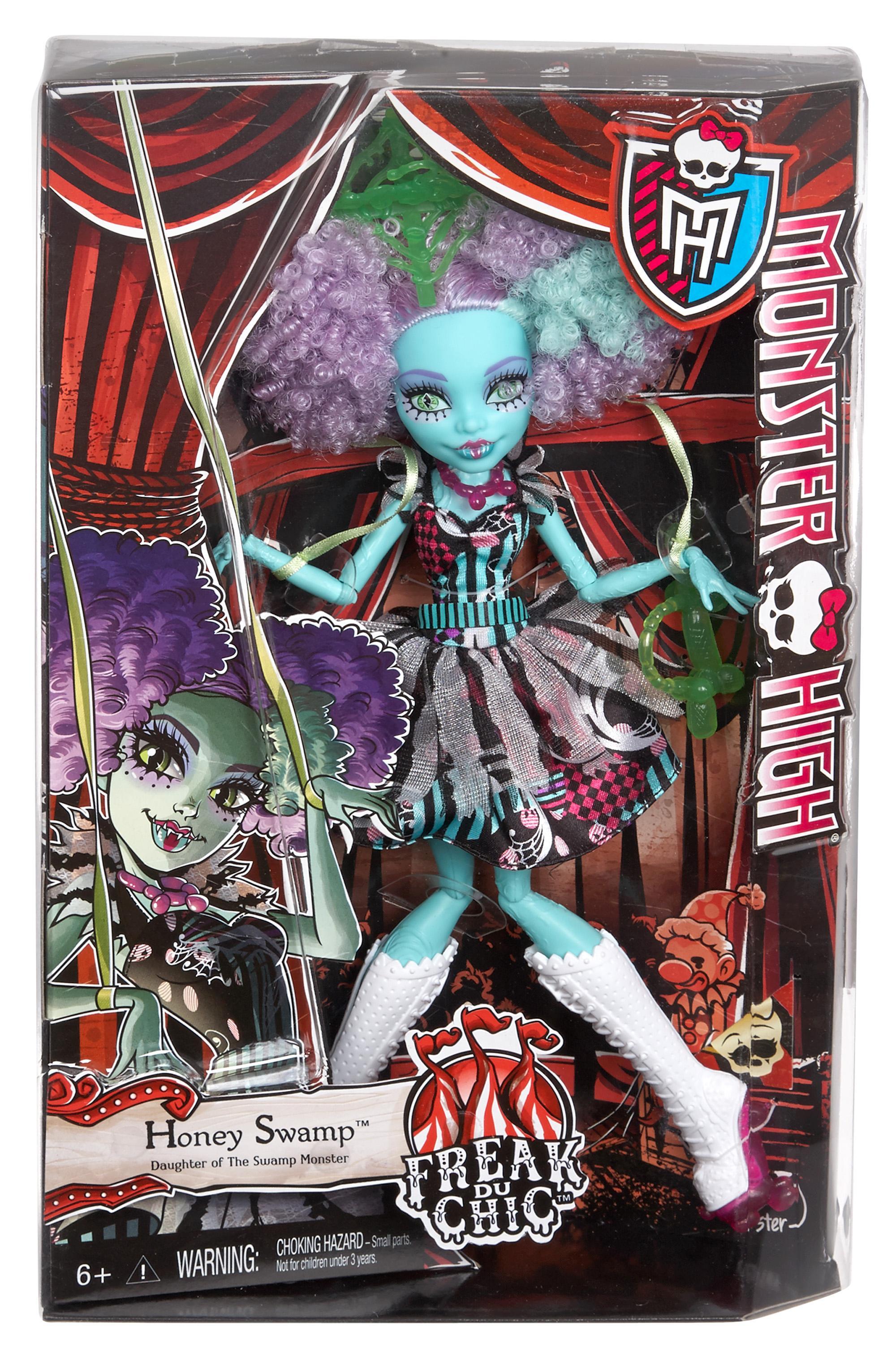 Amazon Com Monster High Freak Du Chic Honey Swamp Doll