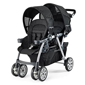 chicco cortina together double stroller ombra baby. Black Bedroom Furniture Sets. Home Design Ideas