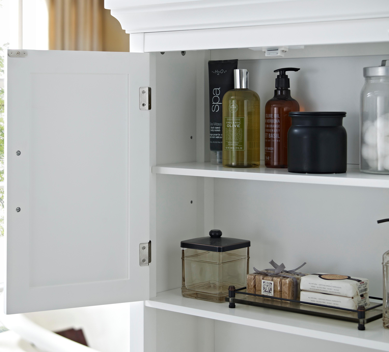 Kitchen Cabinet Space Savers: Amazon.com: Simpli Home Avington Space Saver Cabinet