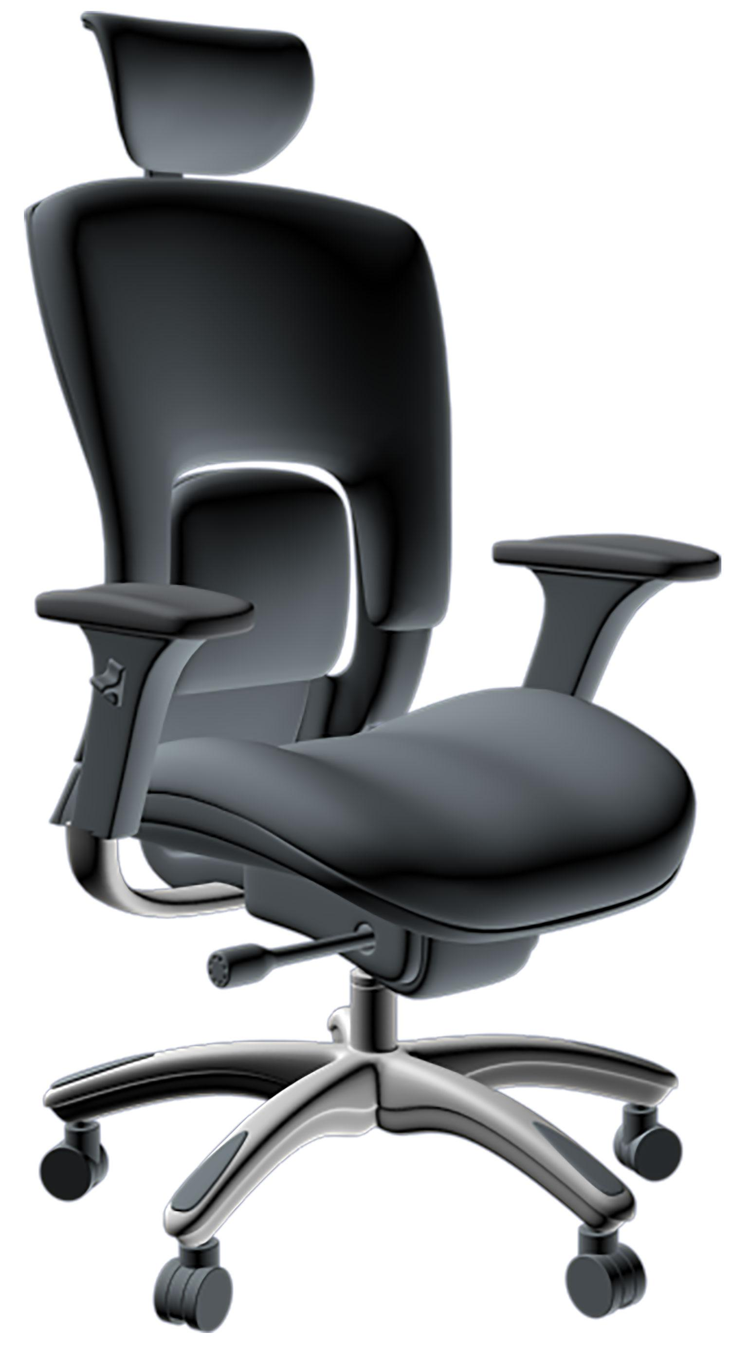 Amazon GM Seating Ergolux Genuine Leather Executive Hi Swivel