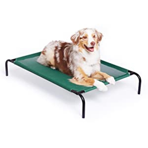 AmazonBasics Elevated Cooling Pet Bed - Large
