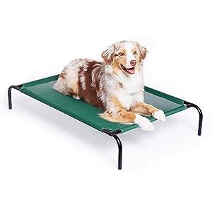 AmazonBasics Elevated Cooling Pet Bed - Large