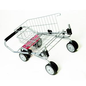 toy shopping cart for kids and toddler pretend play folds for storage metal. Black Bedroom Furniture Sets. Home Design Ideas