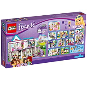 Lego friends stephanie 39 s house 41314 toy for 6 for Kitchen set for 8 year old
