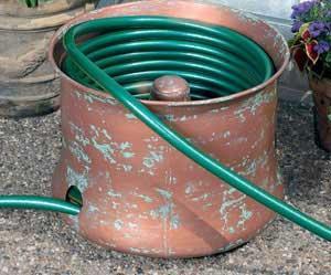 CobraCo Copper Finish Cylinder Hose Holder