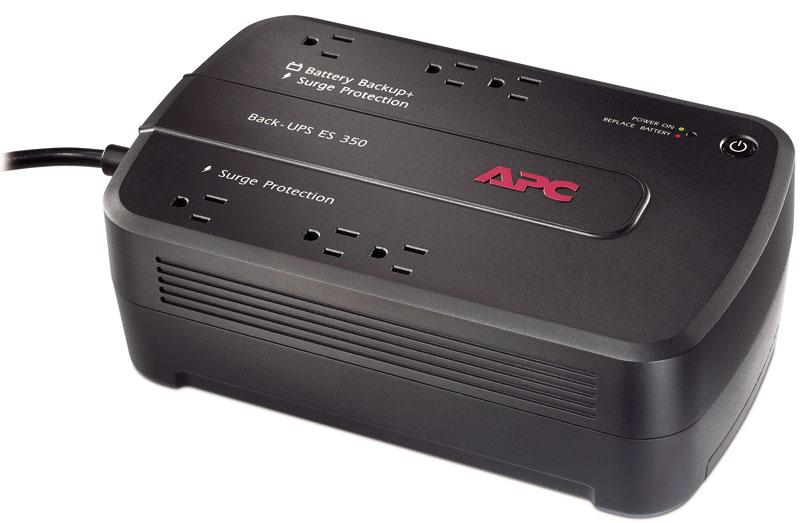 Amazon Com Apc Back Ups 350va Ups Battery Backup Amp Surge